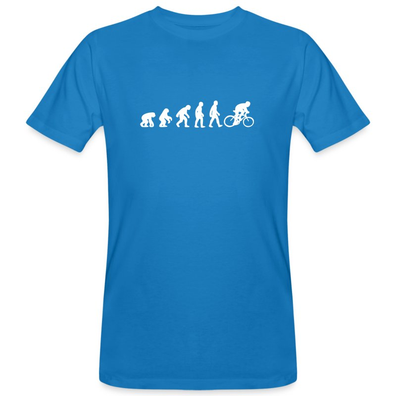 Evolution Bike Organic - Männer Bio-T-Shirt