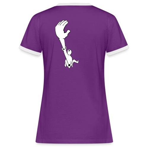Climb Lady - Frauen Kontrast-T-Shirt