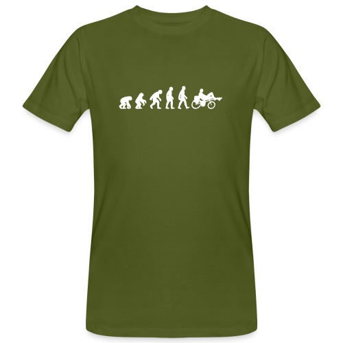 Evolution Liegerad Organic - Männer Bio-T-Shirt
