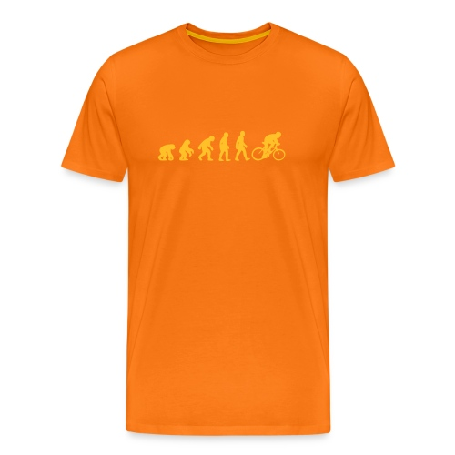Evolution Bike - Männer Premium T-Shirt