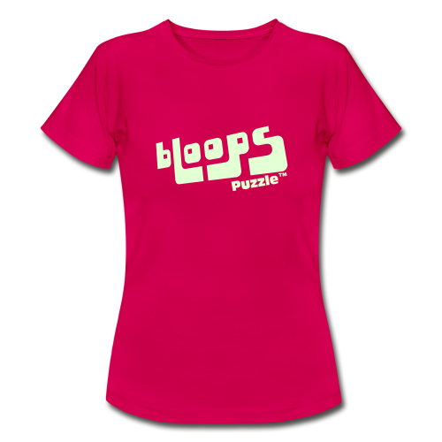 Women's T-Shirt bLoops Puzzle (printed SpecialFlex Phosphorescent) - Women's T-Shirt