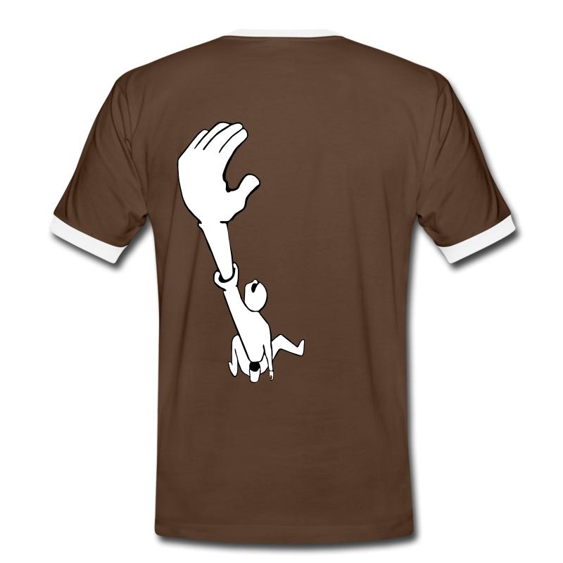Climb - Männer Kontrast-T-Shirt