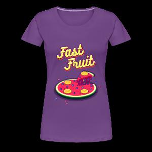 Fast Fruit - Women's Premium T-Shirt