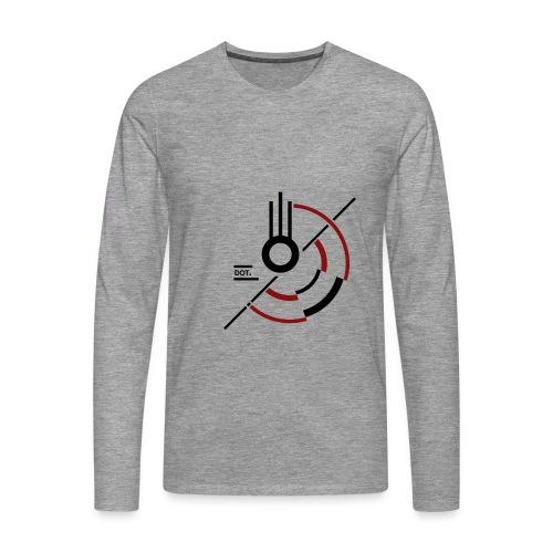 T-shirt homme manches longues Meteor - T-shirt manches longues Premium Homme