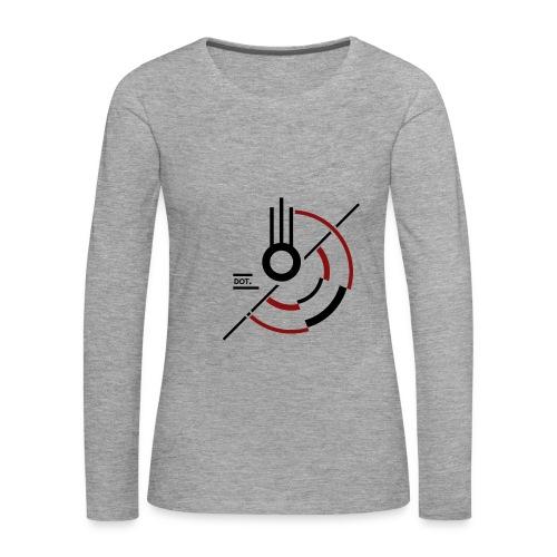T-shirt femme manches longues Meteor - T-shirt manches longues Premium Femme