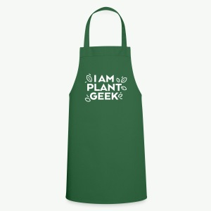 I am Plant Geek outdoor apron - Cooking Apron