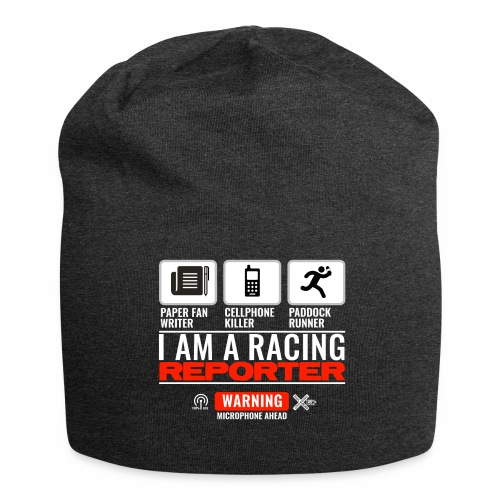 I am a racing reporter 2 - Bonnet en jersey