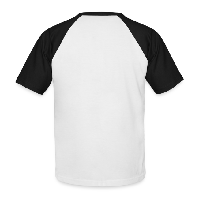"Men's Baseball T-Shirt ""bLoops Puzzle"" (printed burgundy red)"