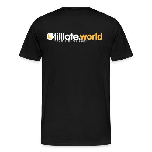 Official tilllate.world T-Shirt - Männer Premium T-Shirt