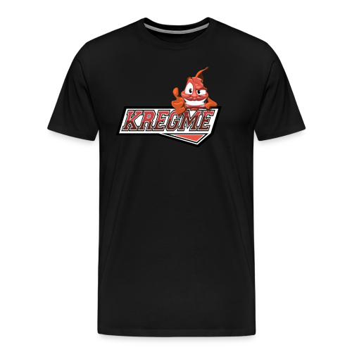 Rundhalset Kregme trøje med navn! - Herre premium T-shirt