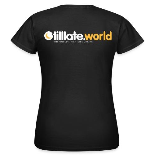 Official tilllate.world T-Shirt - Frauen T-Shirt