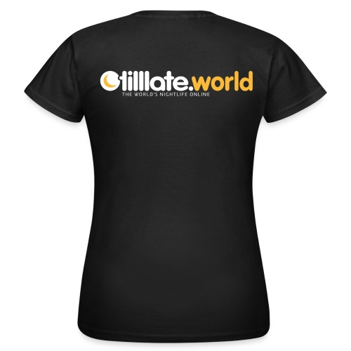 Official tilllate.world T-Shirt - Frauen T-Shirt