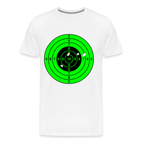 Zielscheibe - Männer Premium T-Shirt