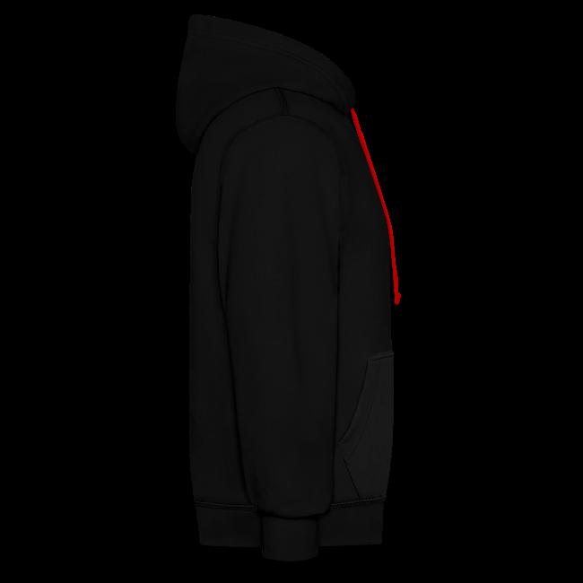 "Unisex hoodie ""bLoops Puzzle"" (printed Fluo Phosphorescent SpecialFlex)"