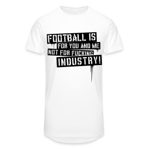 Football is for you and me - Longshirt - Men's Long Body Urban Tee