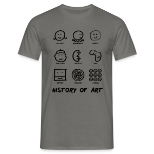 History of Art - Männer T-Shirt