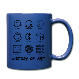 History of Art - Tasse einfarbig