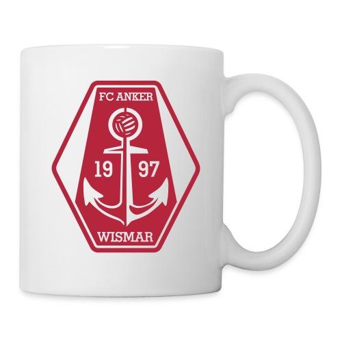 Kaffeetasse mit Logo und Anker - Tasse