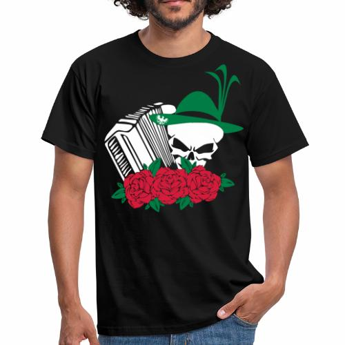 HARMONIKA TRACHT ROCK - Männer T-Shirt