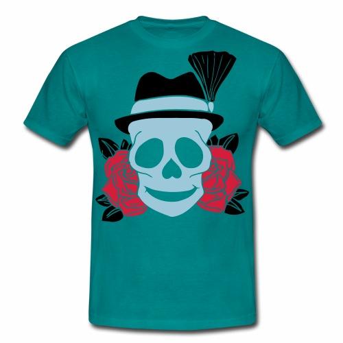 TRACHT SKULL - Männer T-Shirt