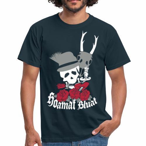 HEIMAT BLUT/ HOAMAT BLUAT - Männer T-Shirt
