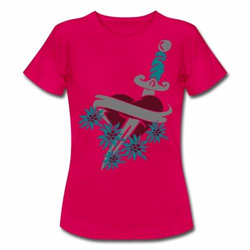 Frauen T-Shirt - wiesn T-shirt,wiesn,trachtenlederhose,trachten t-shirt,oktoberfest outfit,lausmadl,hirsch,gaudishirt,dirndl t shirt,alpenrock,Trachten Trends,T-Shirts mit originellen Motiven,Oktoberfest T-shirt,Bavarian T-Shirt,Alpenwahnsinn