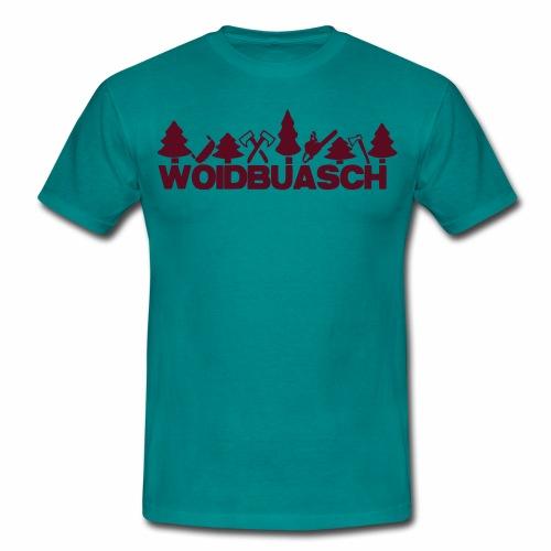 HOLZHACKER/WALDBURSCHE/ - Männer T-Shirt