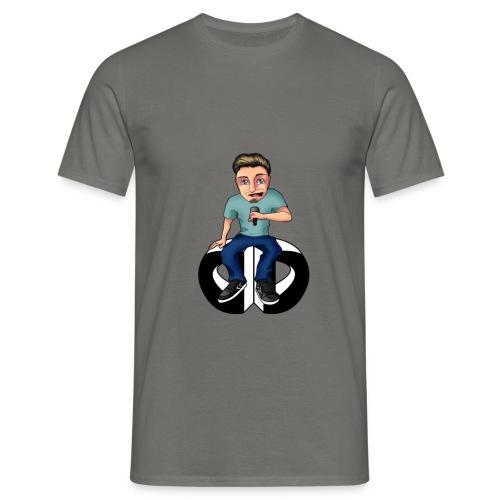 Men's T Shirt - Moderator : graphite grey - Men's T-Shirt