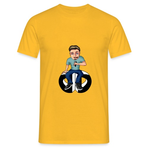 Men's T Shirt - Moderator : yellow - Men's T-Shirt