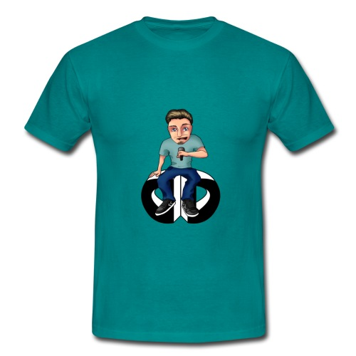 Men's T Shirt - Moderator :  blue - Men's T-Shirt