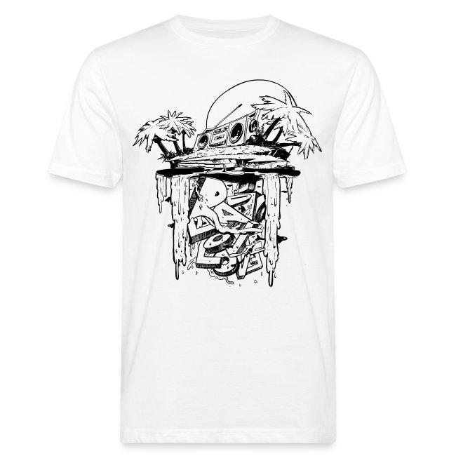 Radio Love Love Island Bio T-shirt