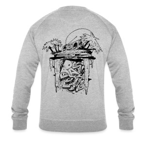 Radio Love Love Island Sweater Back Print - Men's Organic Sweatshirt by Stanley & Stella