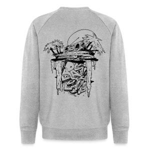 Radio Love Love Island Sweater Back Print - Men's Organic Sweatshirt by Stanley & Stella