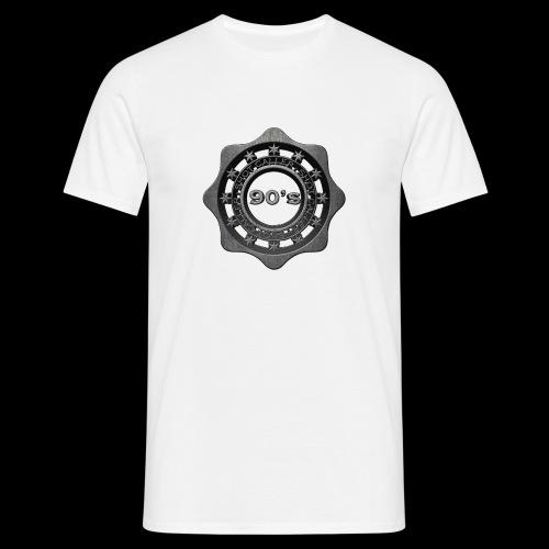 90's white - Mannen T-shirt