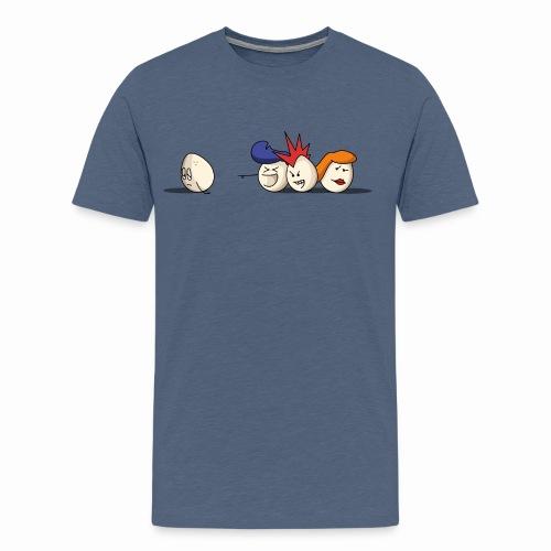Bold Bald Eggs - T-shirt Premium Homme