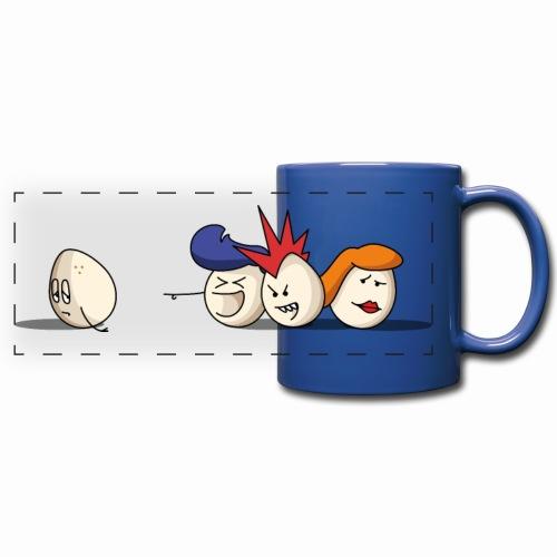 Bold Bald Eggs - Mug panoramique uni