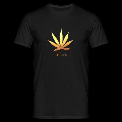 T-shirt black - Relax - Mannen T-shirt