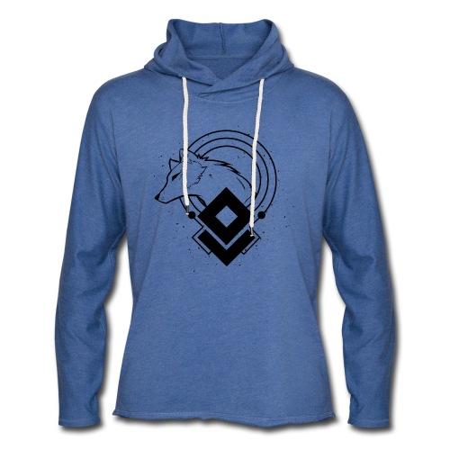 WHITE WOLF - Unisex Sweatshirt hoodie - Light Unisex Sweatshirt Hoodie