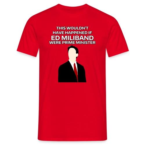 PM Ed Miliband (Unisex) - Men's T-Shirt