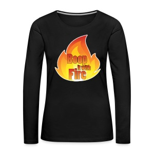 Women's Fire Long Sleeved Top - Women's Premium Longsleeve Shirt