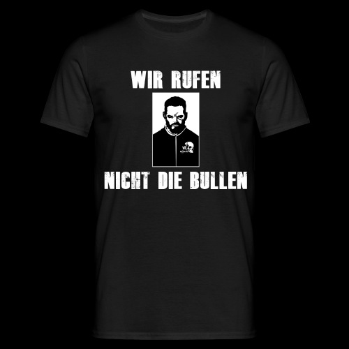WK Antisocial Männer T-Shirt Wir rufen nicht - Männer T-Shirt