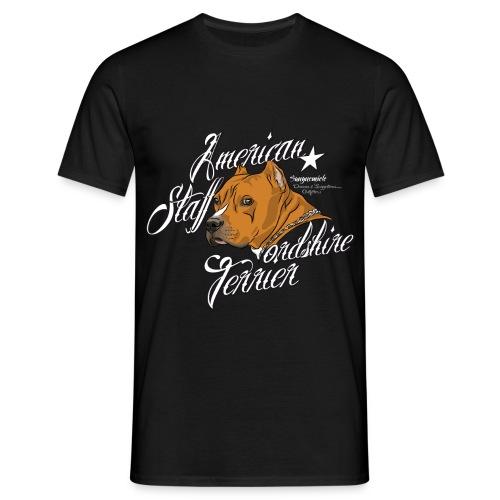 Amerikaanse Staffordshire Terrier shirt - Mannen T-shirt