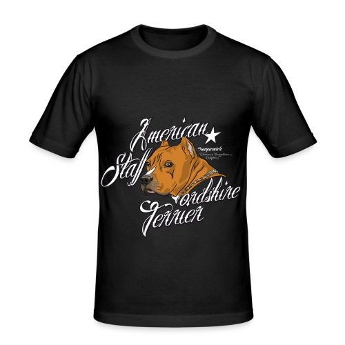 American Staffordshire Terrier t-shirt - slim fit T-shirt