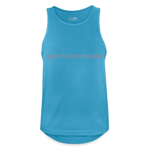 Sportuccino Sports Sleeveless Shirt - Men's Breathable Tank Top