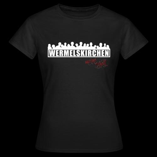 WK Antisocial Frauen T-Shirt meine Stadt - Frauen T-Shirt