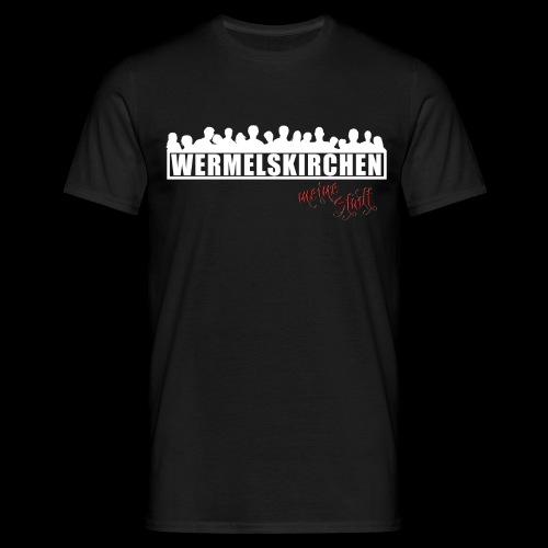 WK Antisocial Männer T-Shirt meine Stadt - Männer T-Shirt
