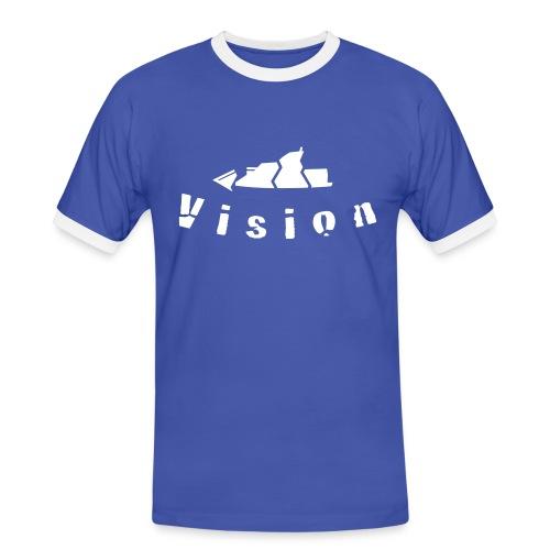 Vision - Männer Kontrast-T-Shirt