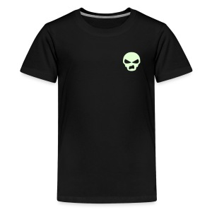 Sneer Skull  - Teenage Premium T-Shirt