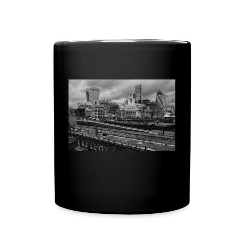 Mug Londres, passé et présent - Noir - Mug uni
