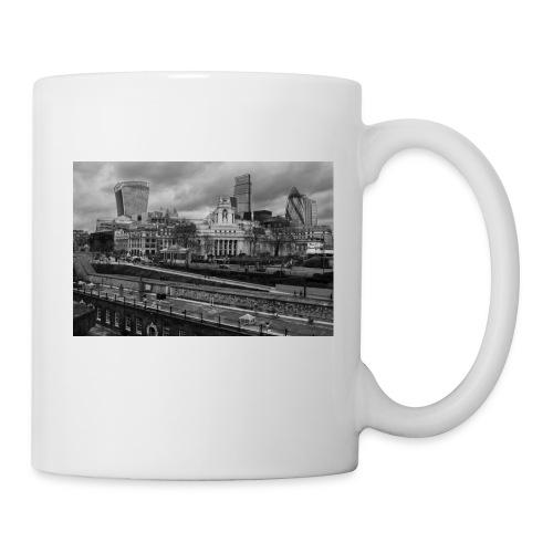 Mug Londres, passé et présent - Blanc - Mug blanc